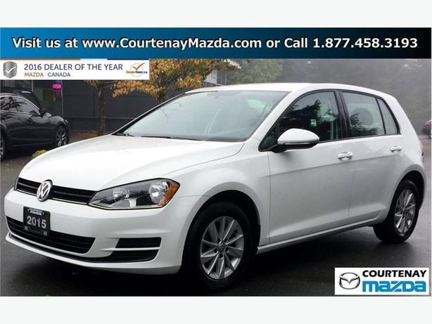 2015 Volkswagen Golf 3-Dr 1.8T Trendline at Tip