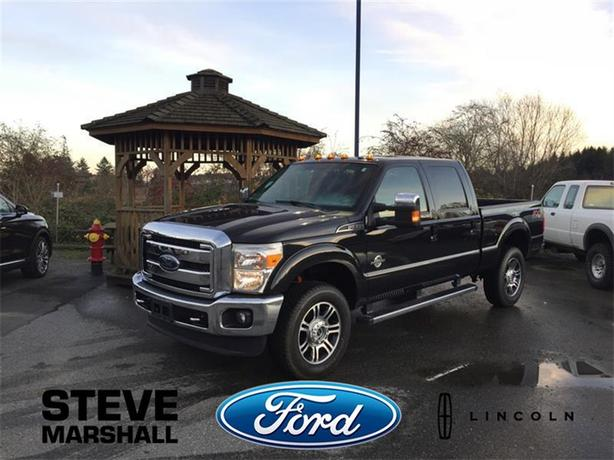2013 Ford F-350 Super Duty SRW Lariat - Fully Loaded Diesel