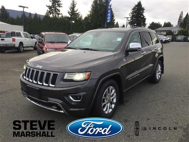 2014 Jeep Grand Cherokee Overland - Luxury