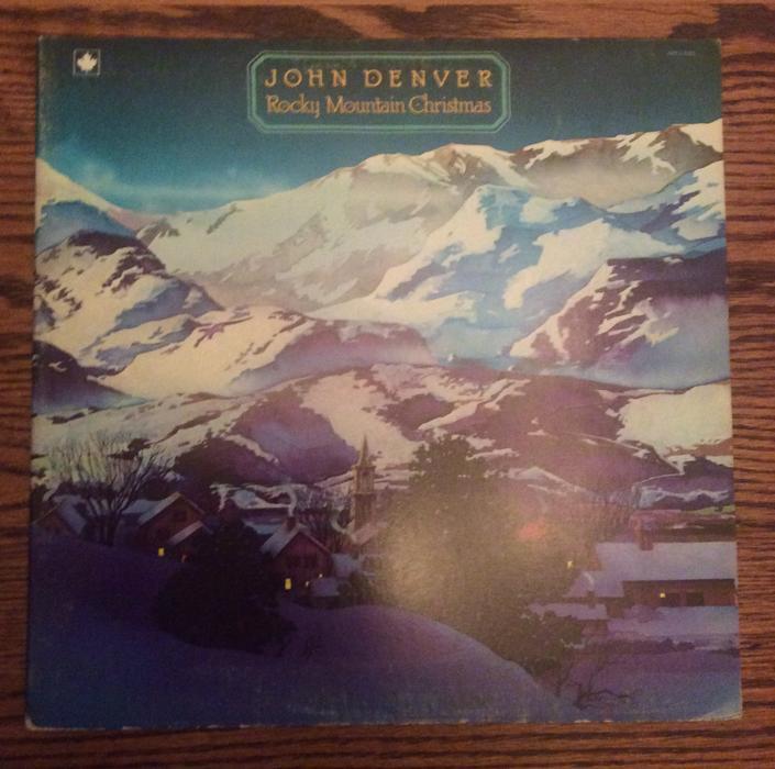 John Denver - Rocky Mountain Christmas LP Victoria City, Victoria