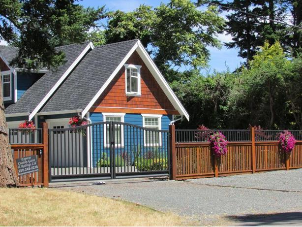 Custom Aluminum Driveway Gates! -Westcoast Custom Gates Ltd