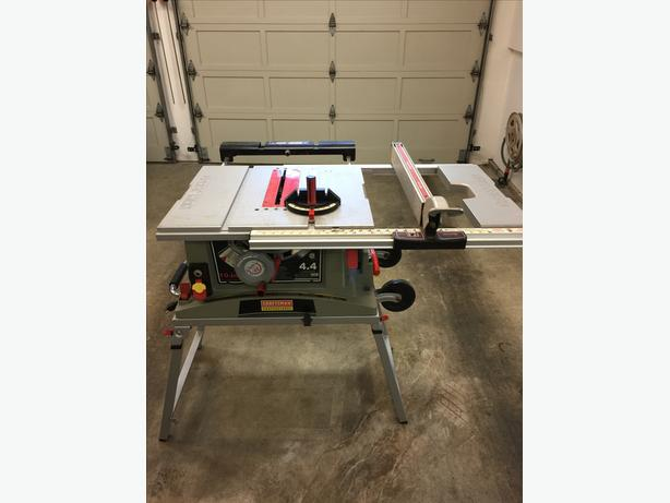Craftsman Professional 10 Table Saw Saanich Victoria