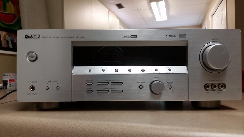 Yamaha natural sound av receiver rx v450 esquimalt view for Yamaha rx v450 av receiver price