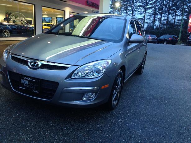 2012 Hyundai Elantra Touring Gls Sport Outside Victoria