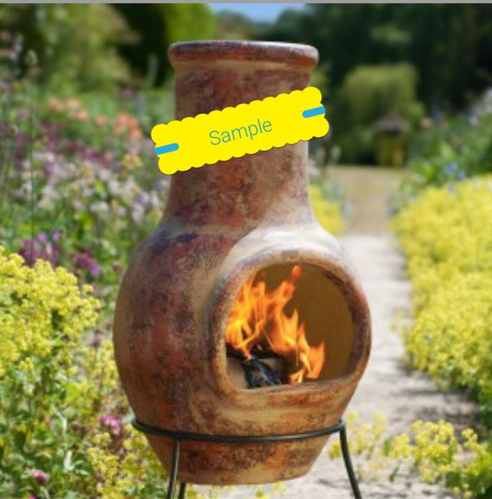 Mexican Clay Chiminea Outdoor Fireplace Victoria City Victoria