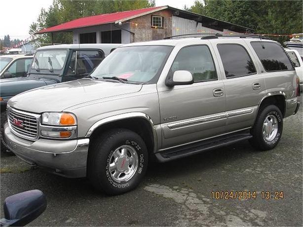 2001 GMC Yukon SLE 4WD