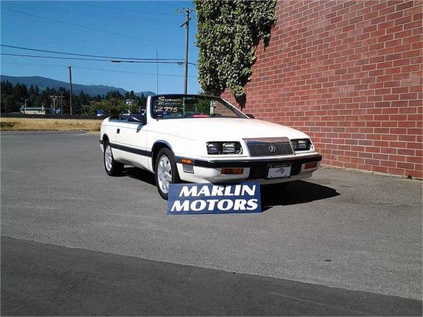 1987 Chrysler Le Baron Premium Convertible