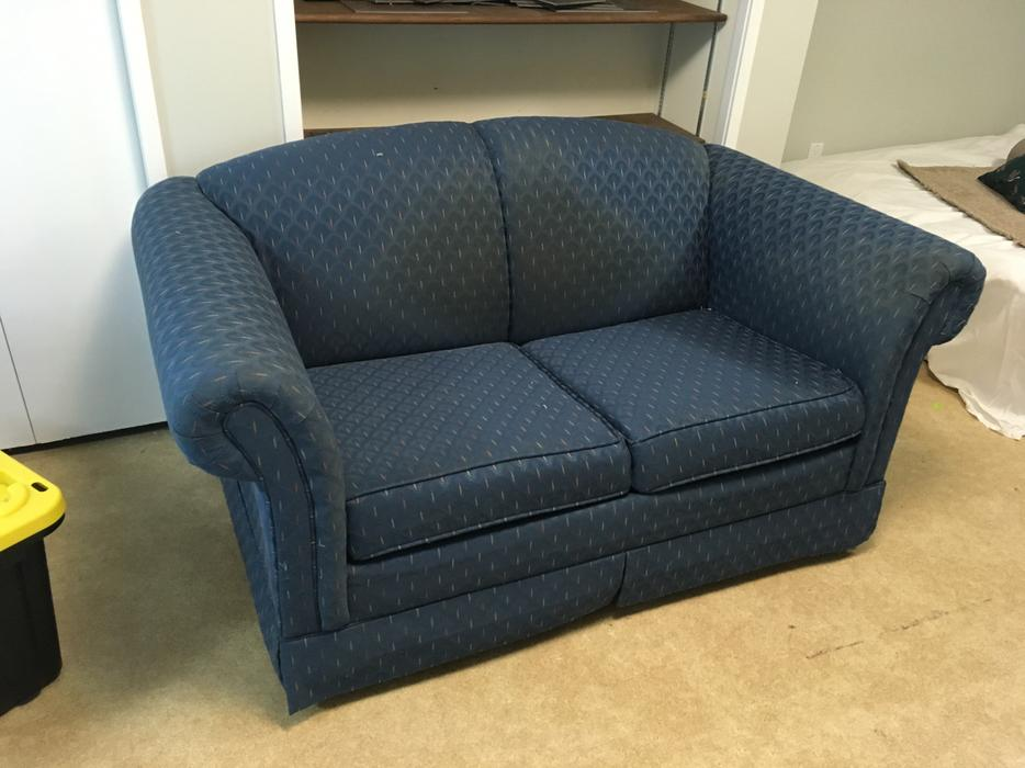 Sofa bed with single mattress saanich victoria for Sofa bed victoria