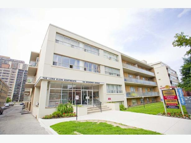 Avail. now Cute  1 bedroom Toronto Broadway Apartments