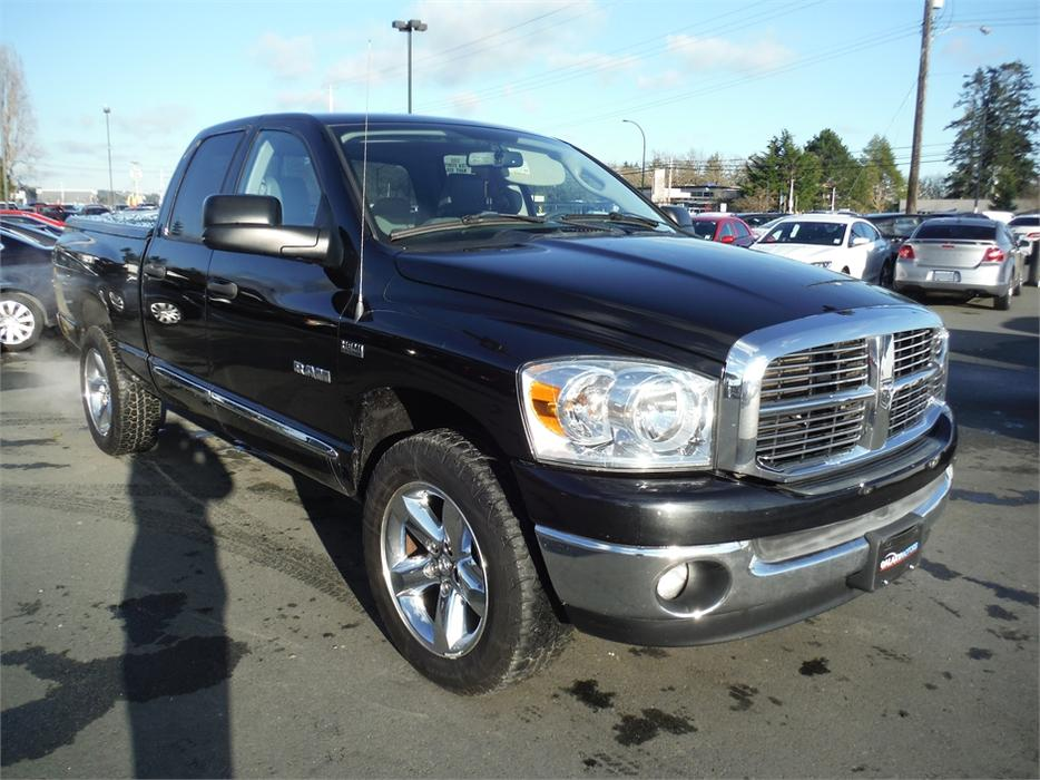 2008 dodge ram 1500 st qu8ad 5 7l v8 hemi reuglar box 4wd west shore langford colwood. Black Bedroom Furniture Sets. Home Design Ideas