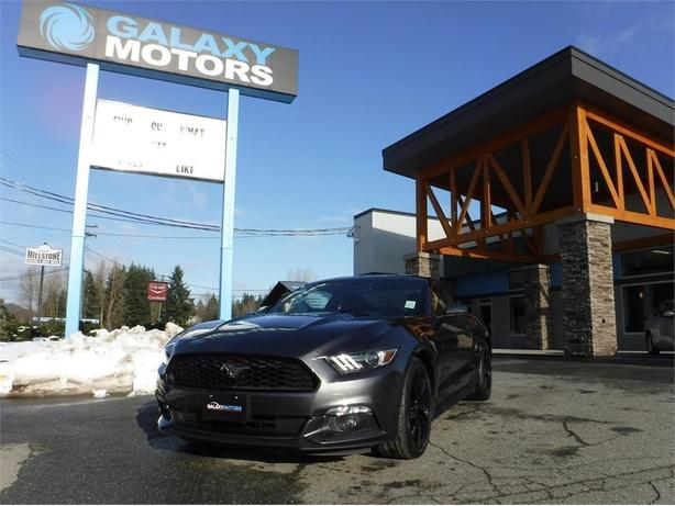 2015 Ford Mustang Ecoboost - RWD, Leather Int, 6 Spd Manual