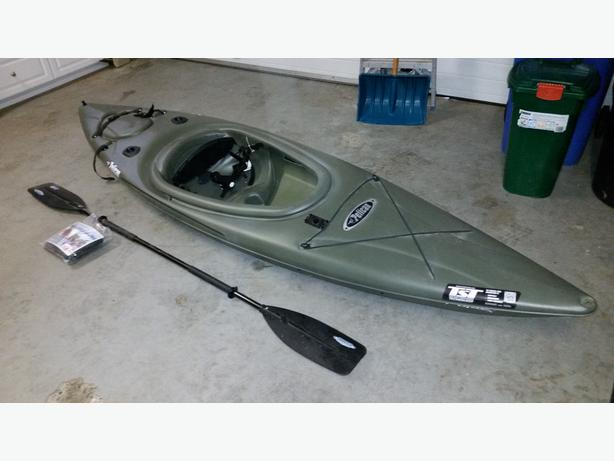10ft pelican fishing sit in kayak km10 malahat including for Used fishing kayak