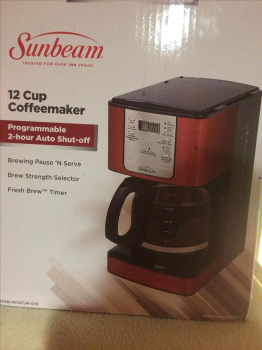 Sunbeam Coffee Maker North Regina, Regina