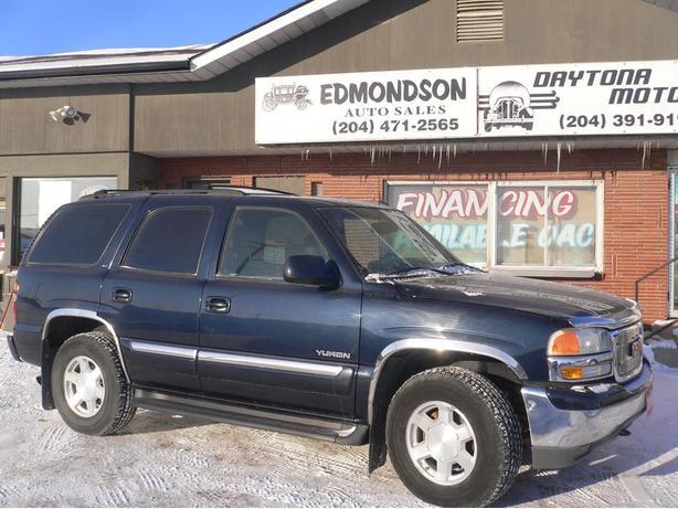 2005  GMC Yukon SLE 4x4