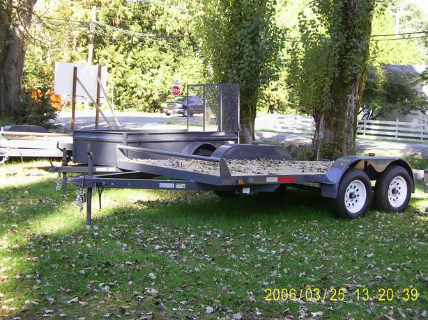 "...We ONLY SELL Trailers we BUILD!! 'GREAT NORTHERN"" trailers"