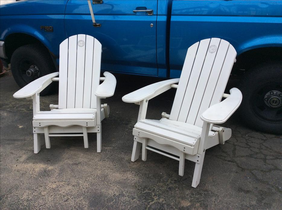 2 outdoor adirondack lounge chairs victoria city victoria for Outdoor furniture victoria bc