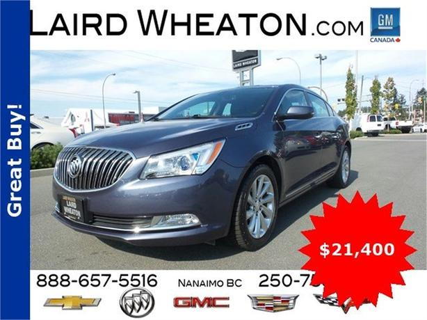 2015 Buick LaCrosse Base w/ Back-Up Camera and 4G WiFi Hotspot
