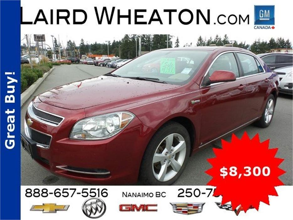 2009 chevrolet malibu hybrid low kms outside cowichan. Black Bedroom Furniture Sets. Home Design Ideas