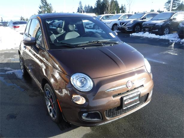 2013 fiat 500 sport leather int bluetooth alloy wheels courtenay courtenay comox mobile. Black Bedroom Furniture Sets. Home Design Ideas
