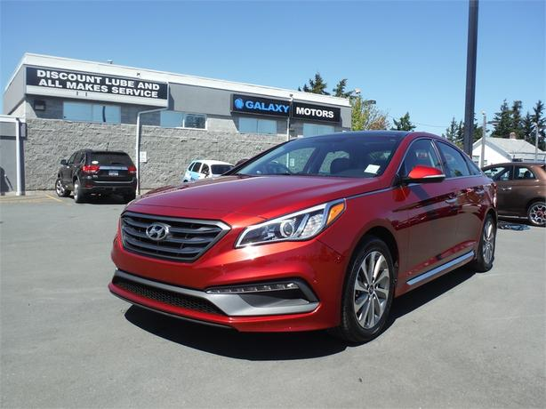 2016 Hyundai Sonata 2.4L Sport Tech - Leather, Backup Camera