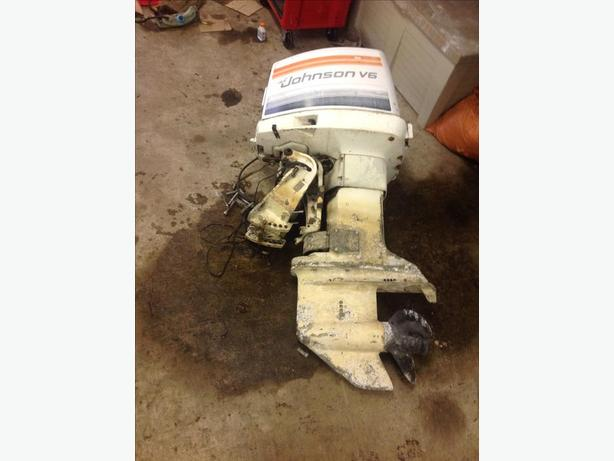 150 hp johnson port alberni alberni for Power trim motor for johnson outboard