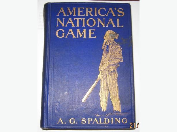 1911 1st ed Americas National Game - $120