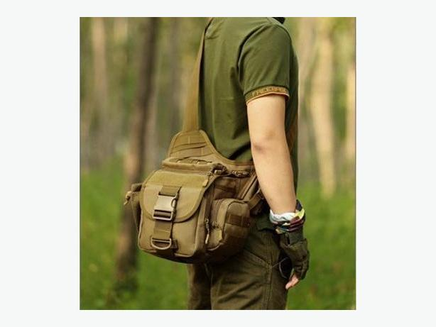 Tactical Military Molle Utility Crossbody Shoulder Sling Camera Bag