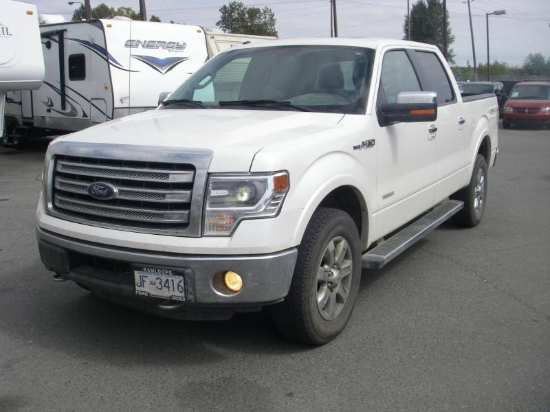 2014 ford f 150 supercrew lariat 5 5 ft bed 4wd ecoboost outside comox valley comox valley. Black Bedroom Furniture Sets. Home Design Ideas