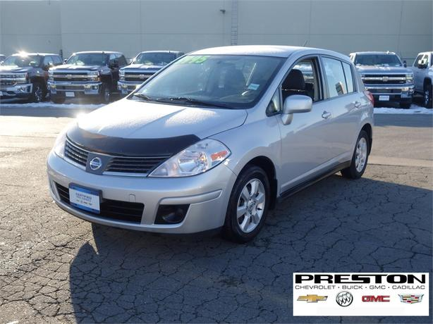 2007 nissan versa 1 8 sl langley vancouver. Black Bedroom Furniture Sets. Home Design Ideas