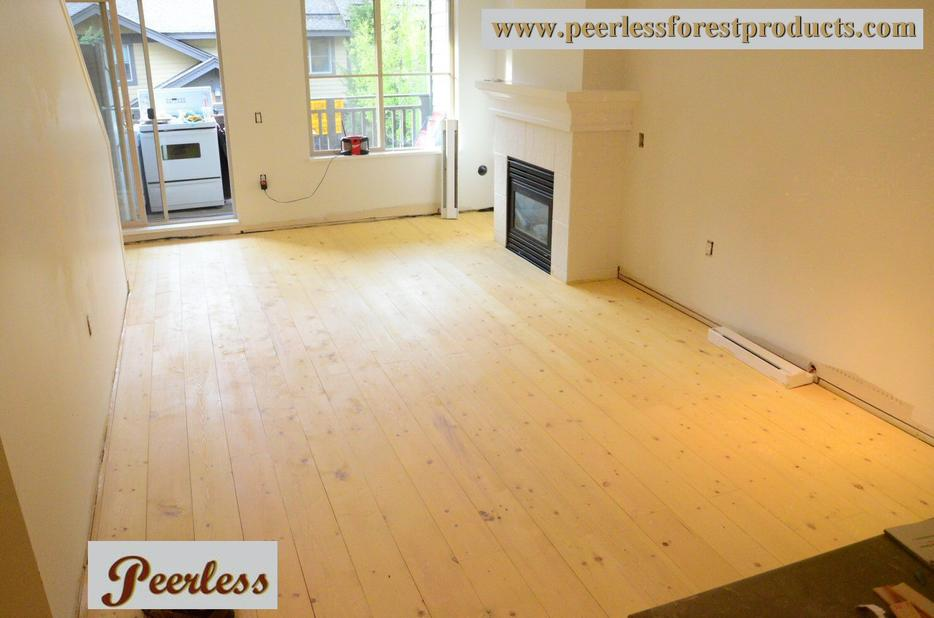 Bc solid wood pine plank flooring outside nanaimo nanaimo for Hardwood flooring york region