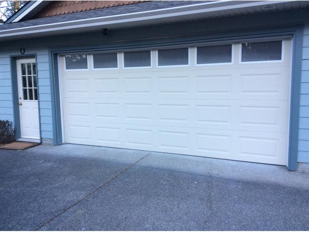 garage door 16 foot sooke victoria