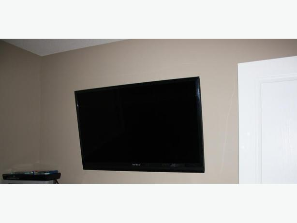 TV wall mount and bluray combo