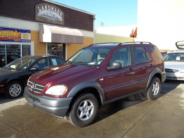 1999 mercedes benz ml320 leather loaded auto v6 for Mercedes benz ml320 1999