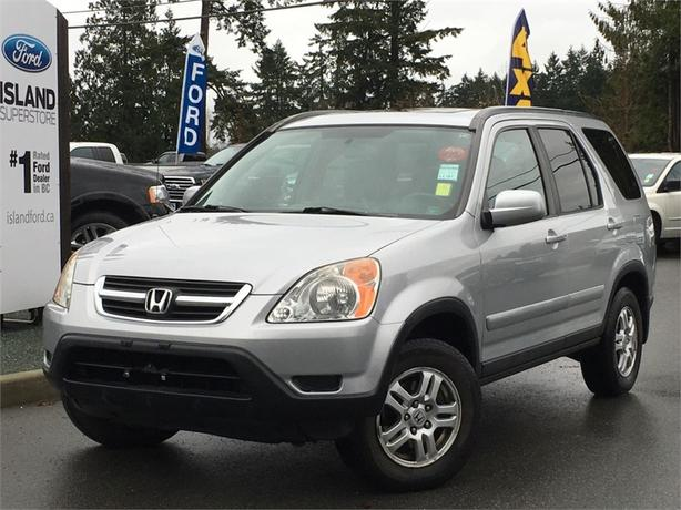 2004 Honda CR-V EXL, Sunroof, Heated Seats, AWD
