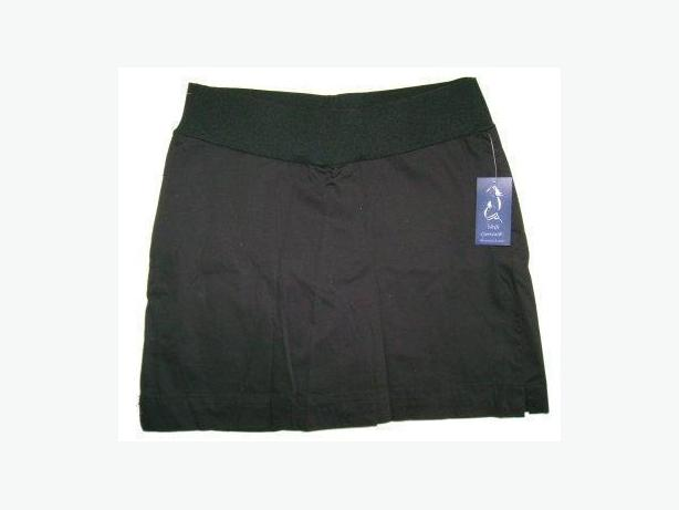 REBEL MATERNITY Black Skirt Skort - Size 10 - NEW