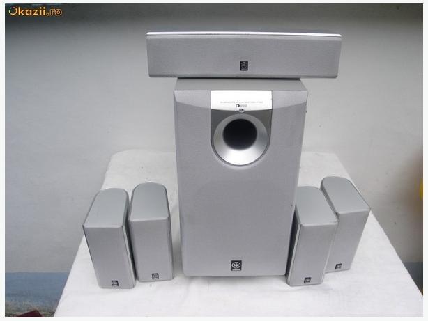 yamaha sw p130 5 1 surround sound system like new