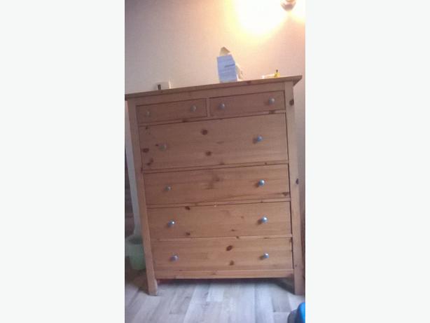 Hemnes tall 8 drawer dresser Central Saanich, Victoria