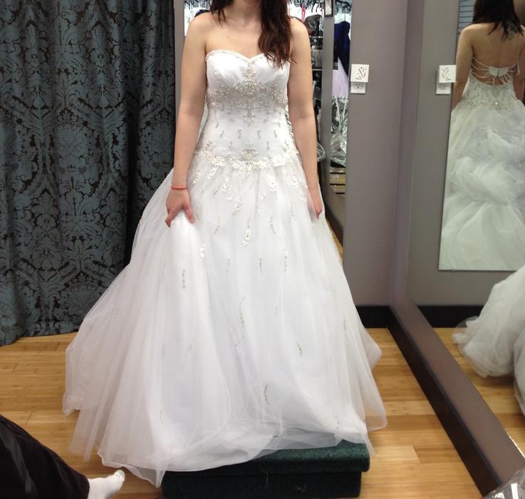 Wedding Dress Alterations Halifax : Ella rosa wedding dress never worn rural regina mobile