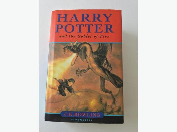 Harry Potter and the Goblet of Fire First Edition UK Print