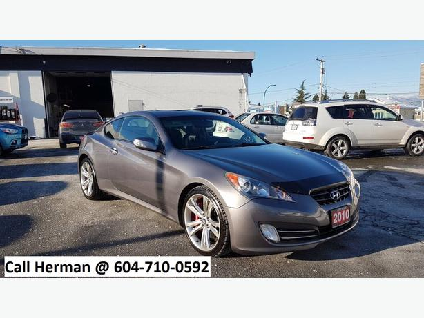 2010 hyundai genesis coupe 3 8 gt v6 auto leather 0 down available outside victoria. Black Bedroom Furniture Sets. Home Design Ideas