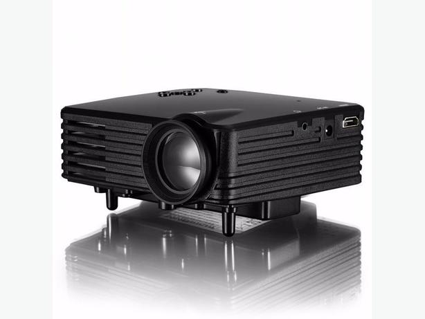 Mini projector 120 lumens led 480x320 gp7s vancouver for Used pocket projector