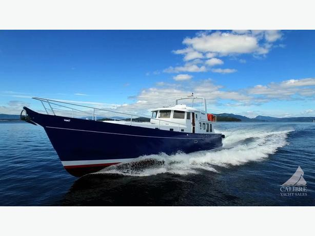 2014 68'  Pilothouse with Gyro and Luxury Power Yacht Nanaimo
