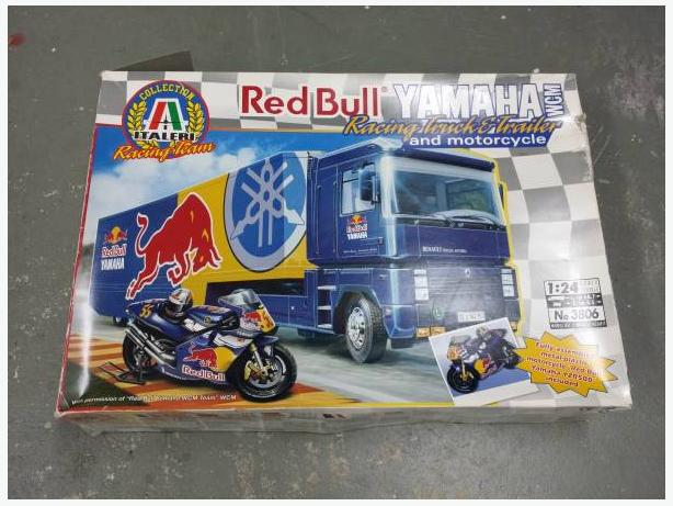 Red Bull Yamaha Racing Truck & Trailer