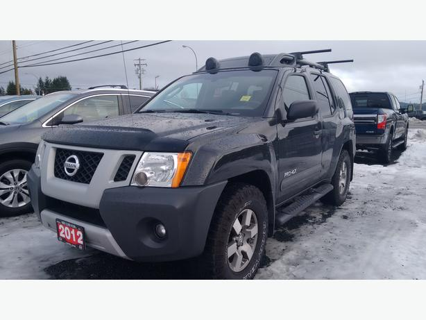 2012 nissan xterra pro 4x outside victoria victoria. Black Bedroom Furniture Sets. Home Design Ideas