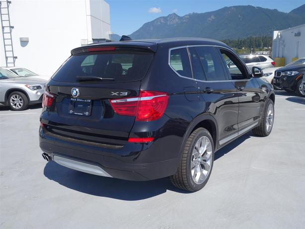 2016 bmw x3 xdrive 35i new vehicle demo pricing last x3. Black Bedroom Furniture Sets. Home Design Ideas