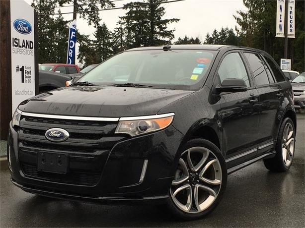 2013 Ford Edge Sport, Sunroof, Leather, AWD