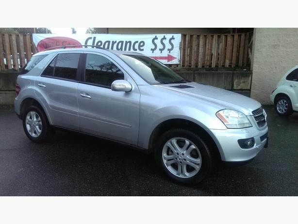 2007 mercedes benz ml320 blutec diesel luxury awd suv west for Expensive mercedes benz suv