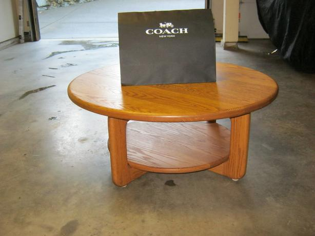 High Quality Solid Wood Coffee Table Only 150 North Saanich Sidney Victoria