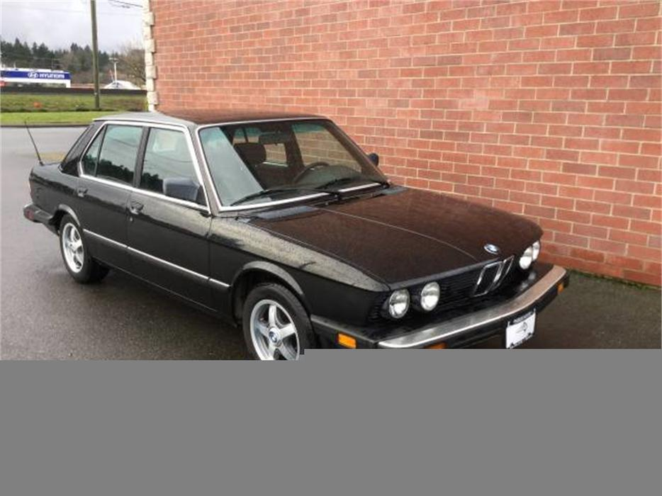 1987 Bmw 535i 535i Automatic Outside Victoria  Victoria