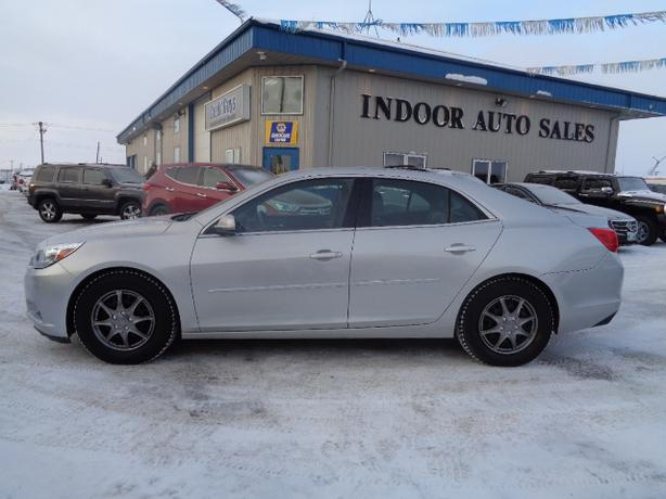 2014 Chevrolet Malibu Lt I5464 Indoor Auto Sales Winnipeg